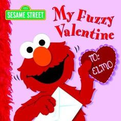 My Fuzzy Valentine (Sesame Street) [Board Book]  It's Valentine's Day and Elmo's received an anonymous valentine. Who could have sent it? He checks with all of his friends and finds the answer right back where he started looking—at home! Kids will love touching the fuzzy flocking on every spread!