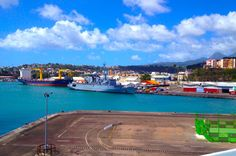 Martinique port