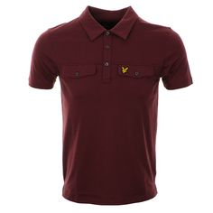 Lyle And Scott > Lyle And Scott Pocket Polo T Shirt Red > Lyle and Scott T Shirts Lyle and Scott Polo Shirts Lyle And Scott Clothes @ Mainline Menswear Stockists Of Lyle and Scott T Shirts Firetrap Armani G Star Gio Goi Two Stoned Hugo Boss Fred Perry Henleys Ralph lauren Mens Designer Clothing Online UK