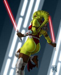 Twi'lek Sith by sugarsart