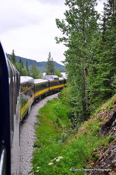 Seward to Anchorage Alaska Railway