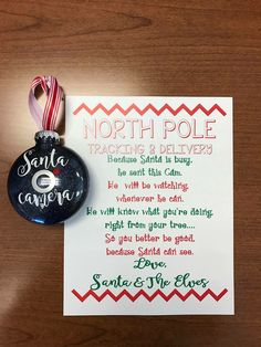 "KG Shake it Off Popped is North Pole (Da Font) PN Christmas is the ""letter"" part (Sil Store) Love Santa is Christmascardscript (Sil Store) Cricut Christmas Ideas, Christmas Eve Box, Christmas Balls, Christmas Projects, Christmas Holidays, Xmas Ideas, Merry Christmas, Gift Ideas, Santa Cam Ornament"