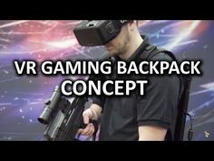 VR Gaming Backpack Concept from Aorus - CES 2016 - YouTube