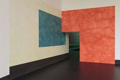 Ernst Caramelle  Coma 26  painting becomes sculpture