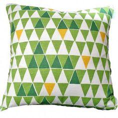 Spira Jaffa Green Swedish Cushion