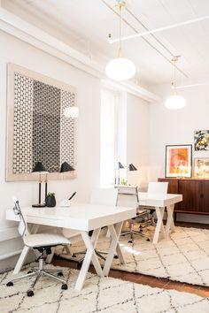 Decorist's new SF office. #office #design #moderndesign http://www.ironageoffice.com/