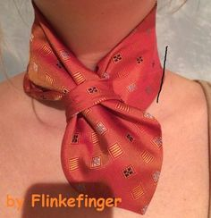 Tie Knot Styles, Scarf Styles, Ways To Wear A Scarf, How To Wear Scarves, Diy Fashion, Fashion Outfits, Diy Clothes, Clothes For Women, Tie Crafts