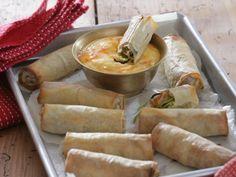 Jarní závitky - Recepty na každý den Fresh Rolls, Quiche, Pizza, Cheese, Ethnic Recipes, Vietnam, Food, Essen, Quiches