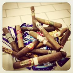 Sweets for my sweet, cigars for ME! ;)