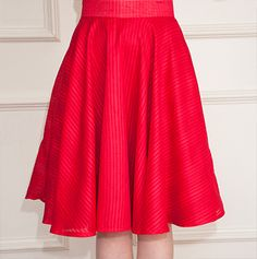 Nice easy skirt to make! large - soft pleats!