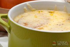 Receita de Caldo de cebola em receitas de sopas e caldos, veja essa e outras receitas aqui!