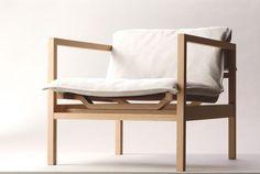 Poltrona moderna in legno NEXTMARUNI by Masayuki Kurokawa Maruni