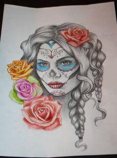 Dia de los muertos by monsterrr.deviantart.com on @deviantART
