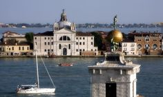 Enjoying one of the most famous views in the world, #PalladioHotel and #Spa on #VeniceGiudeccaIsland looks across the water to the #Doge's Palace.
