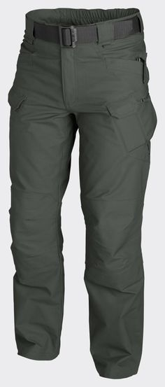 Helikon UTP Urban Tactical Pants Canvas - Jungle Green Main bottom apparel from Urban Tactical Line® Designed for Law Enforcement operators