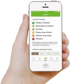 Shop Ethical! - smartphone app