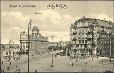 Ansichtskarten Online: Wien, I, Aspernplatz Alter, Hungary, Austria, Taj Mahal, Photographs, History, Retro, City, Travel