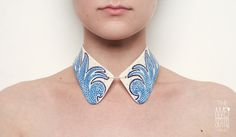 The Awesome Project: Porcelain #Collars by Madalina Andronic  Via: http://fashioncherry.co/the-awesome-project-porcelain-collars-by-madalina-andronic/