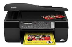 The Epson Stylus has a large flatbed scanner you can utilize to scan flat things and pages from bound books, something you can't make with a page-fed Portable Printer, Printer Driver, Mac Os, Stylus, Epson, Manual, Software, Style, Textbook