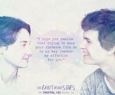 Some love stories are inevitable. #TFIOS c.f.