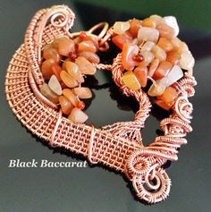 Black Baccarat Jewellery: Ciondolo Albero della Vita - Tree of Life pendant Jewelry Tree, Wire Jewelry, Jewellery, Thing 1, Wire Trees, Tree Of Life Pendant, Wire Weaving, Carnelian, Burlap Wreath