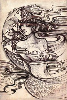 Mermaid by RianGonzales.deviantart.com on @deviantART