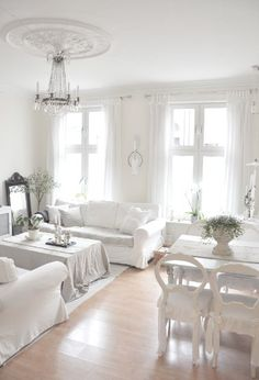 Λευκό καθιστικό_White living rooms - Official Sissy Feida