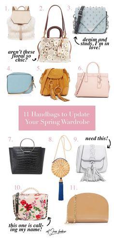 11 Spring Handbags To Update Your Wardrobe