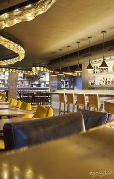 Hotel bar at 9Hotel Mercy in Lisbon, Portugal