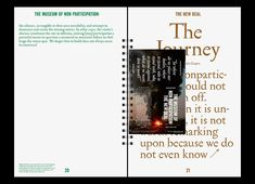 Editorial / Print / Graphic / Book design - Spiral bound publication / portfolio