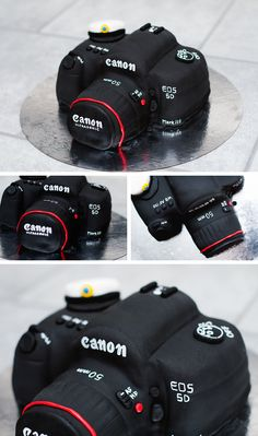 Canon cake - brilliantly done.