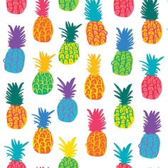 pineapple fabric - Google Search