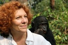 Claudine André founded and runs the world's only sanctuary and release program for orphaned bonobos in the Democratic Republic of Congo. Bonobos, like chimpanzees, are our closest living relative and are highly endangered.