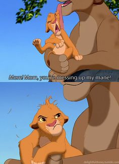 The Lion King - Simba. Oh, Simba, you haven't got a mane. Lion King 3, Lion King Movie, Disney Lion King, King Simba, Disney And More, Disney Love, Disney Magic, Old Disney, Disney Art