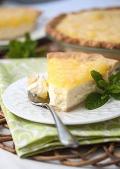 Ricotta Pineapple Pie - from the Sopranos Family Cookbook
