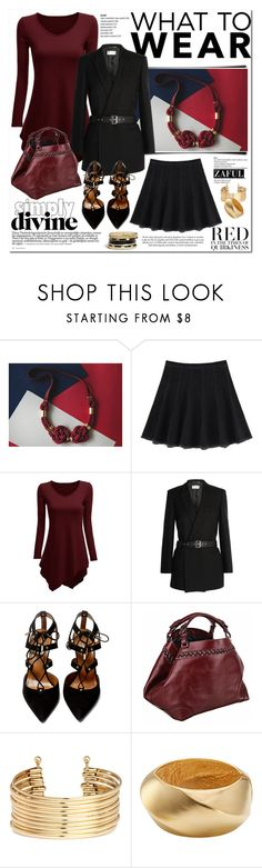 """What to Wear: Black Friday Shopping"" by vanjazivadinovic ❤ liked on Polyvore featuring Yves Saint Laurent, Aquazzura, Caroline De Marchi, H&M, Kenneth Jay Lane, GUESS, etsy, polyvoreeditorial, shoptilyoudrop and zaful"
