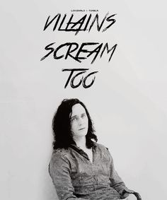 villains scream, too.....except nobody hears them.... <well, thank you I didn't need my heart!!!