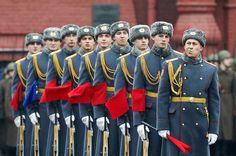 Commémoration de la parade de 1941 sur la place Rouge