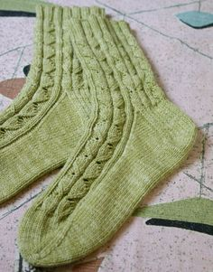 Cookie A's Summer Sox pattern.  Free knitting pattern from Classic Elite Yarns.