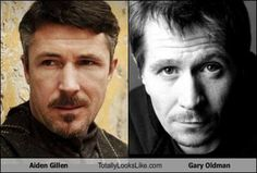 Who also got confused?? (aidan gillen and gary oldman)