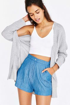 Truly Madly Deeply V-Neck Cropped Cami - Urban Outfitters