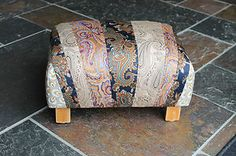 £49.00 Pink Blue, Retro Vintage, Ottoman, Upholstery, Diy Crafts, Crafty, Suitcase, The Originals, Chair