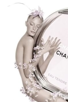"Sigrid Agren for Chanel ""Chance Eau Tendre"" Fragance ph. by  Jean-Paul Goude."