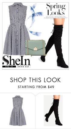 """shein"" by dina123-1 ❤ liked on Polyvore featuring Izabel London, Jennifer Lopez and H&M"