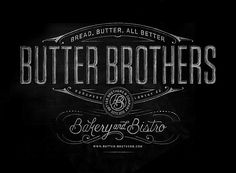Butter Brothers by Ben Didier http://www.prettyugly.ca/Butter-Brothers
