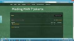 Mading MAN 7 Jakarta - Forum