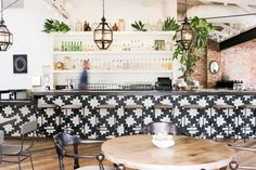 tile pattern #restaurant #decor #azulejos