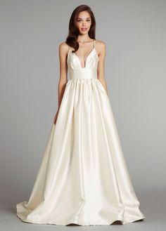 Fashion Friday: Wedding Dresses with Plunging Necklines | Arizona Weddings Magazine
