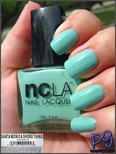 NCLA Santa Monica Shore Thing (swatched, with box) 8$