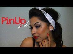 Halloween Makeup: PinUp Girl